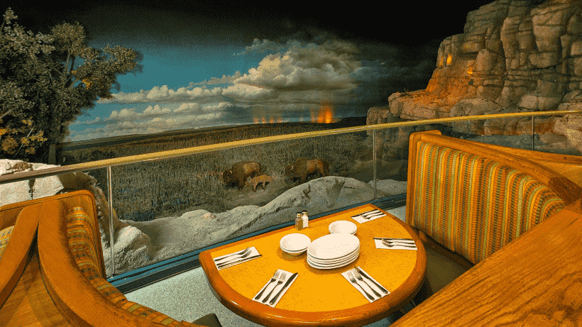 Restaurante The Garden Grill da Disney – Parque Epcot Orlando