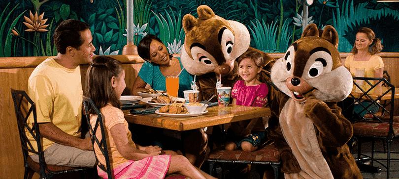 Restaurante The Garden Grill no Parque Epcot na Disney