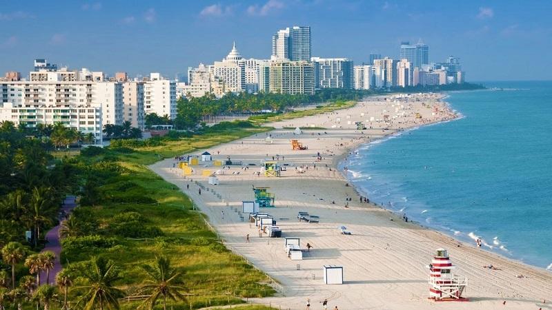Praia de Miami - Flórida