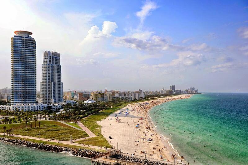 Praia de Miami Beach - O que fazer