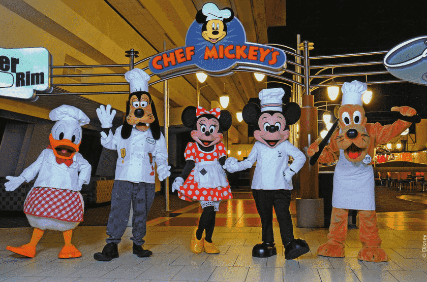 Chef Mickey's na Disney em Orlando