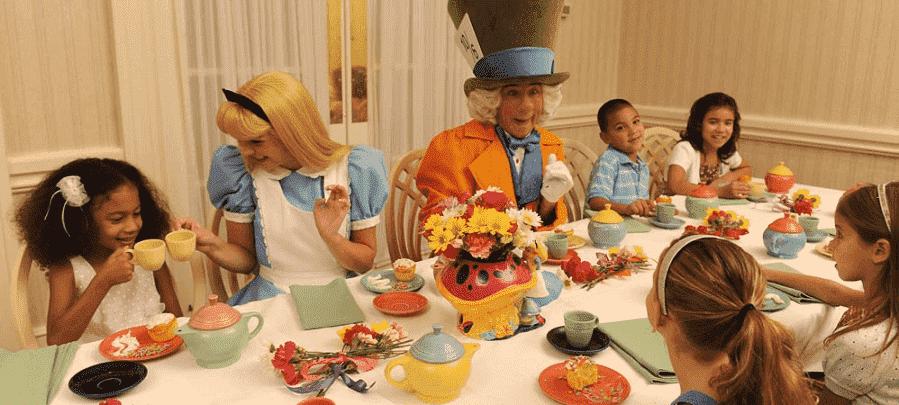 Wonderland Tea Party na Disney em Orlando
