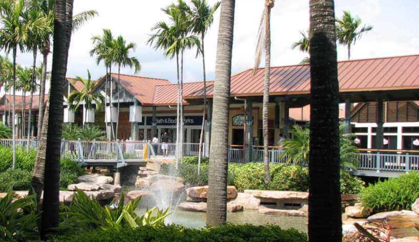 Lojas legais para ir no The Falls em Miami