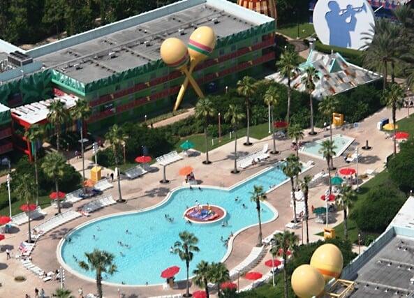 Vantagens de se hospedar no Disney's All Star Music Resort em Orlando