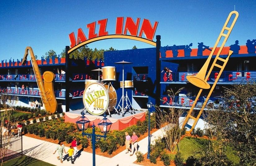 Como é o hotel Disney's All-Star Music