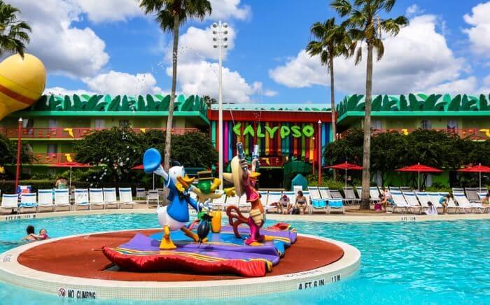 Quartos do Disney's All Star Music Resort em Orlando