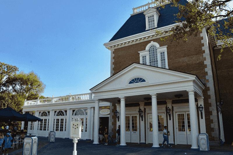 Restaurante Liberty Inn na Disney Orlando