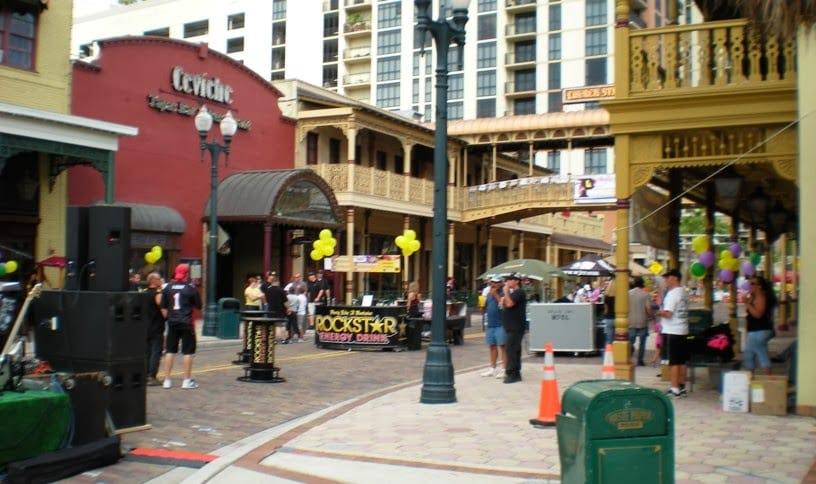 Church Street Station em Orlando
