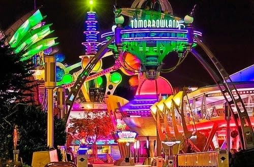 Magic Kingdom Orlando Tomorrowland