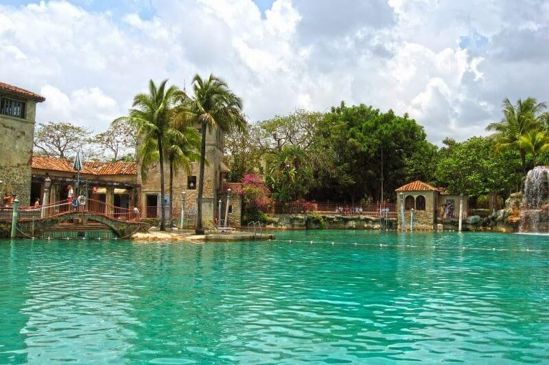 Piscina Venetian Pool Coral Gables