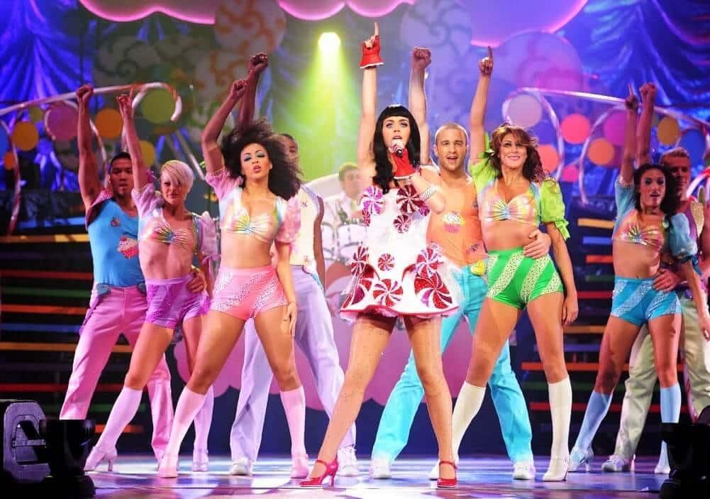 Show da Katy Perry em Tampa na Flórida em 30/06/2014