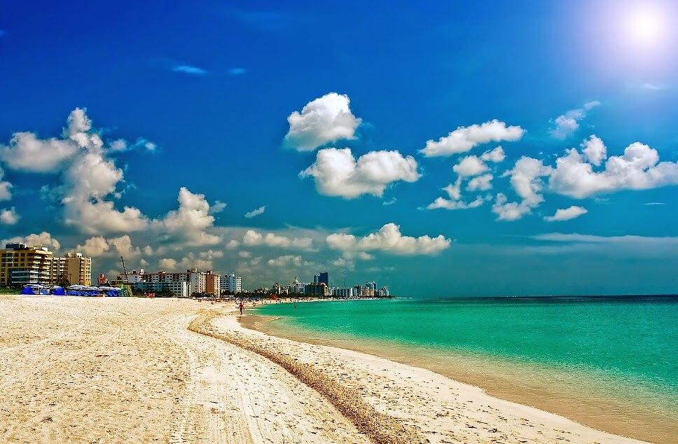Ponto turístico Miami Praia