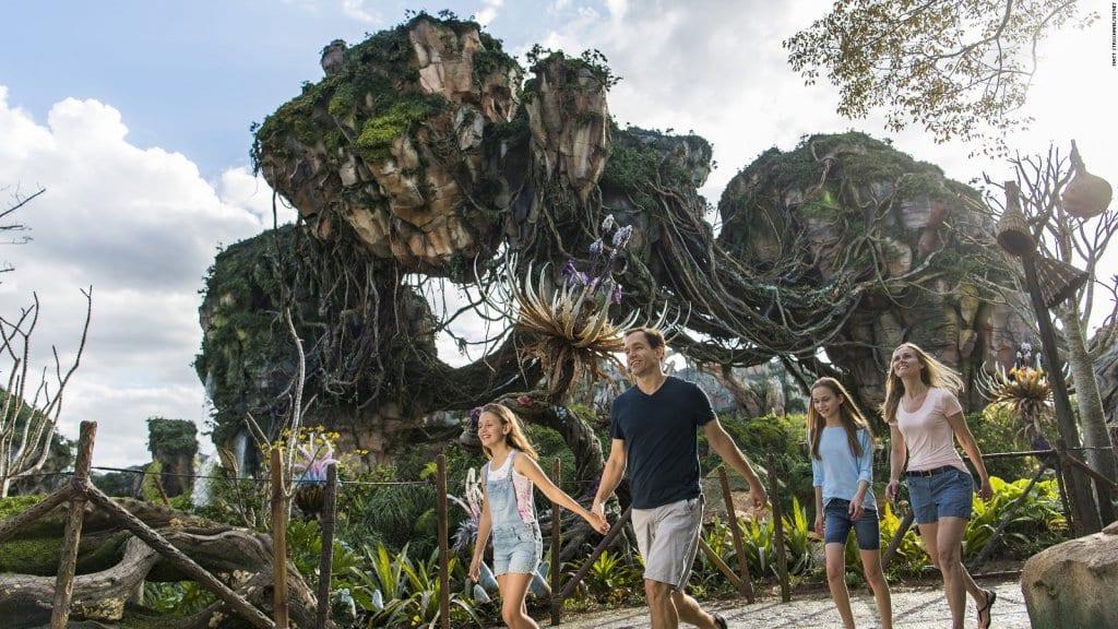 Parque Animal Kingdom em Orlando - Área de Pandora - Avatar