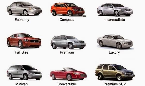 Alugar carro em Miami - Tipos e modelos
