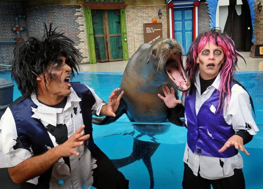 Halloween Spooktacular no Parque Sea World Orlando