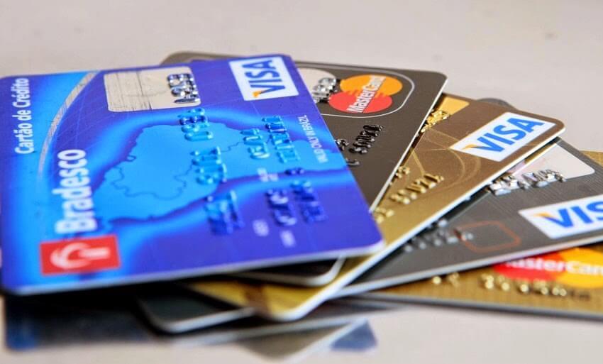 Dnheiro Cartão de Crédito Estados Unidos