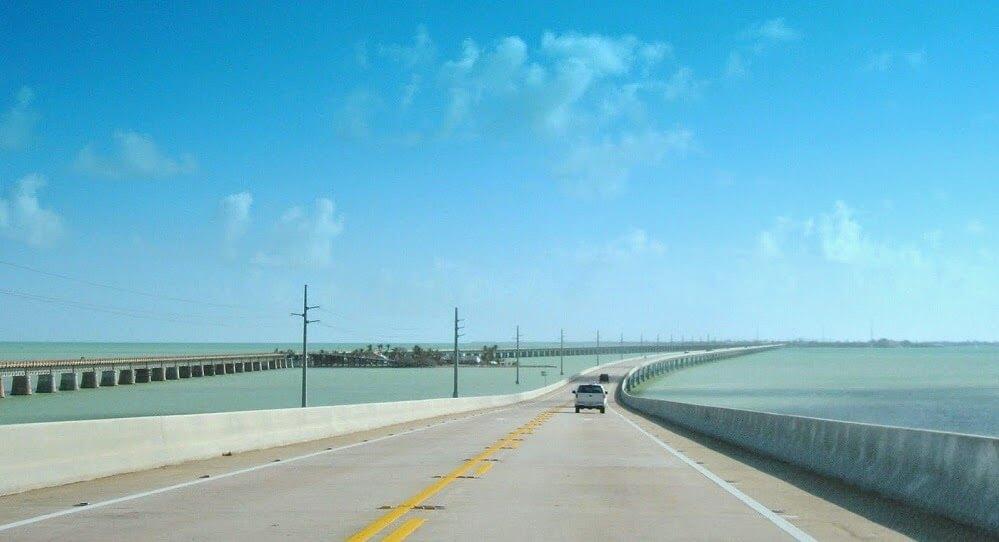 Viagem de Miami à Key West