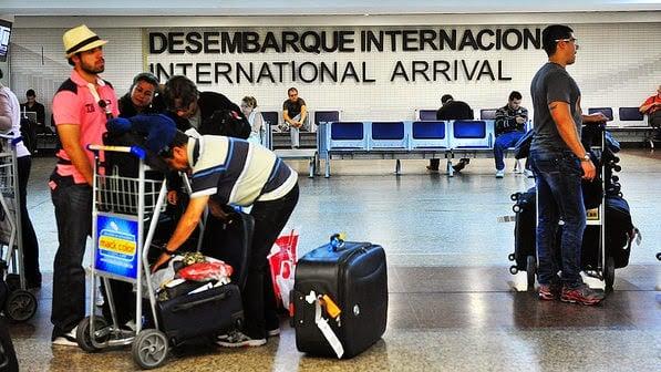 Desembarque internacional - Brasil