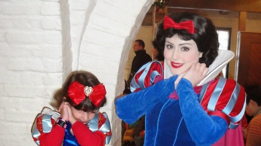 Onde encontrar a princesa Branca de Neve Orlando