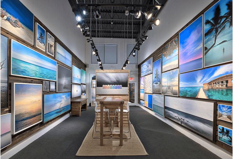 Galerias de arte em Key West na Flórida