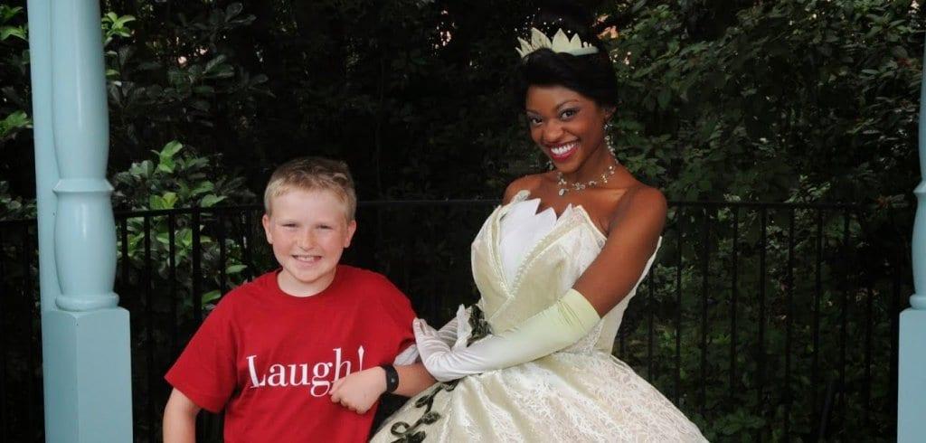 Onde encontrar a princesa Tiana Orlando