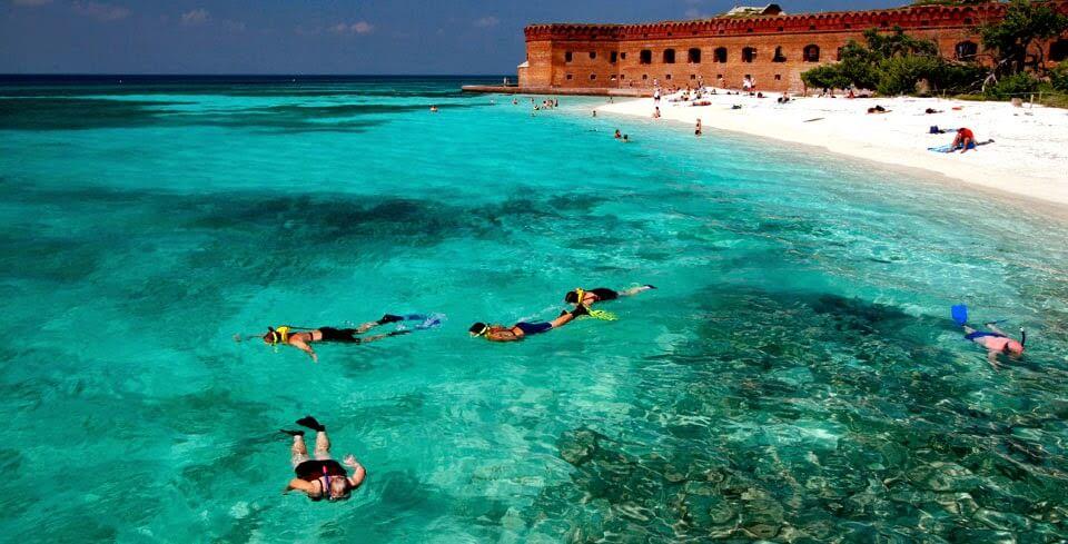 Praia do Forte em Key West