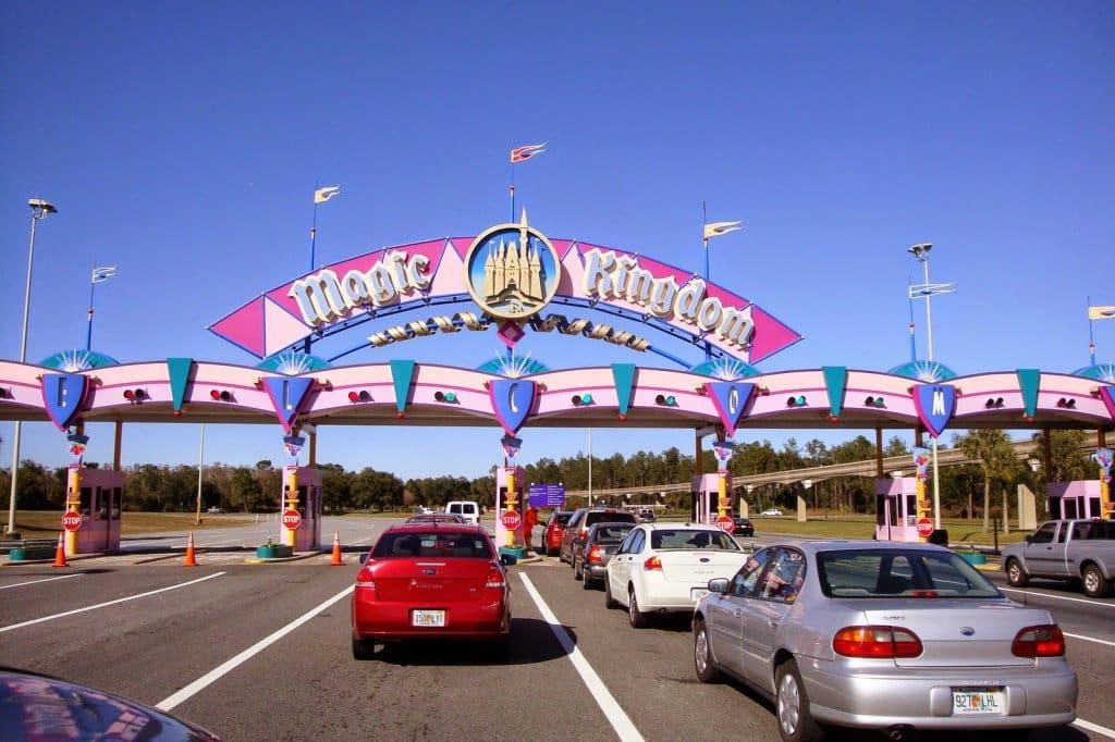 Estacionamentos da Disney