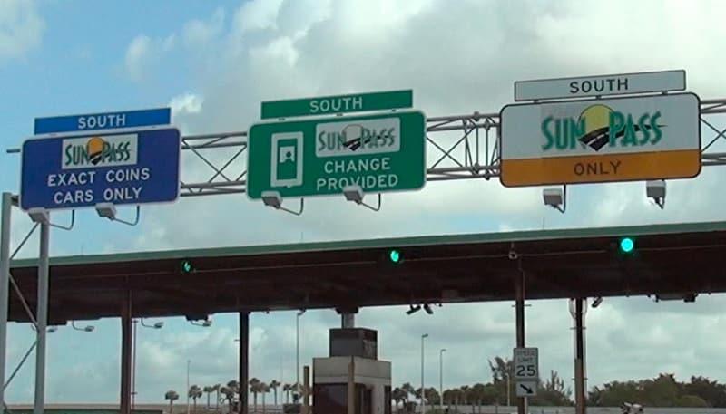 Entradas para o Sunpass na Flórida