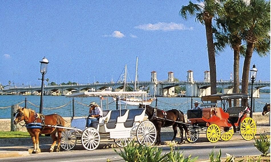 Cidade de Saint Augustine na Flórida
