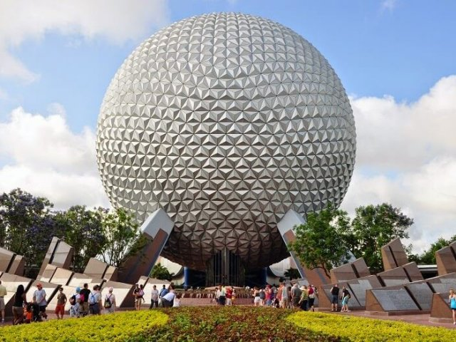 Spaceship Earth no Epcot da Disney Orlando