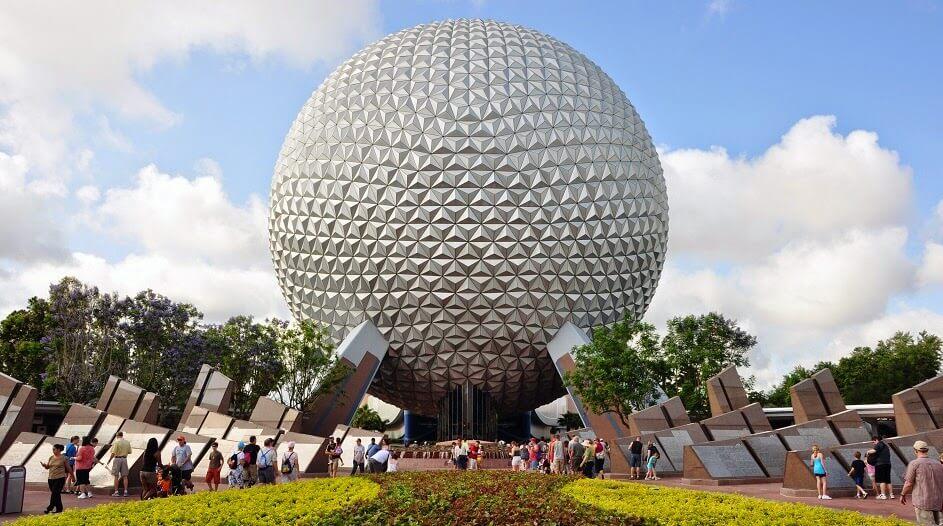 Parque Disney Epcot Center em Orlando