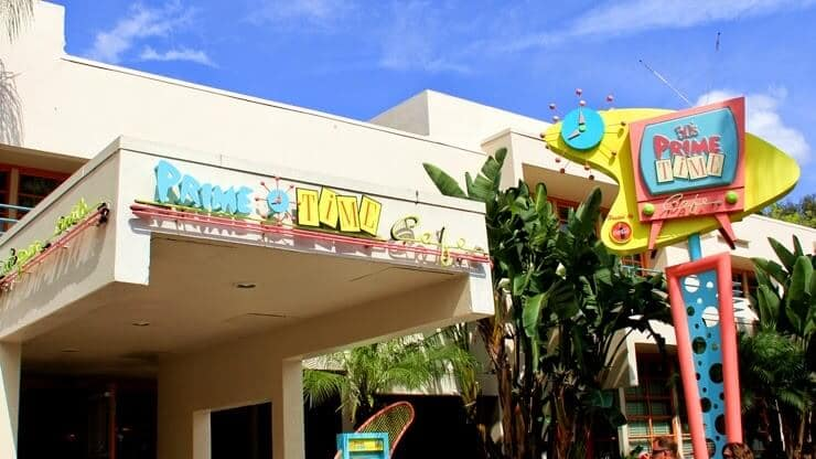 Entrada do 50's Prime Time Café na Disney em Orlando
