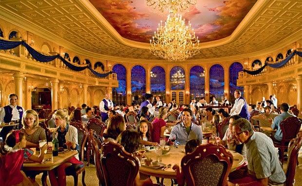 Restaurante Beauty and the Beast da Disney