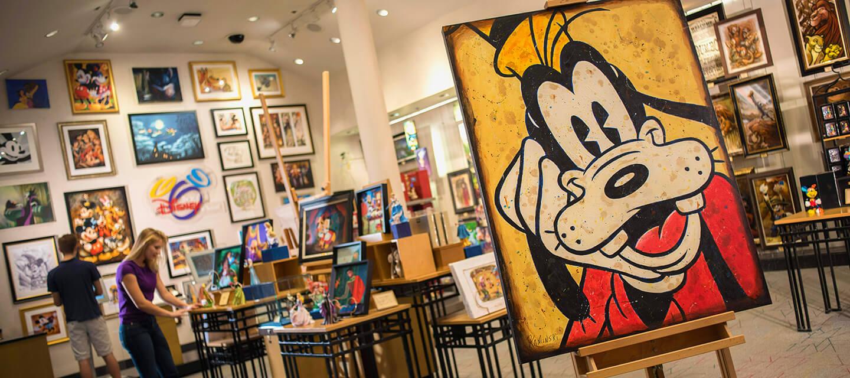 Loja The Art of Disney