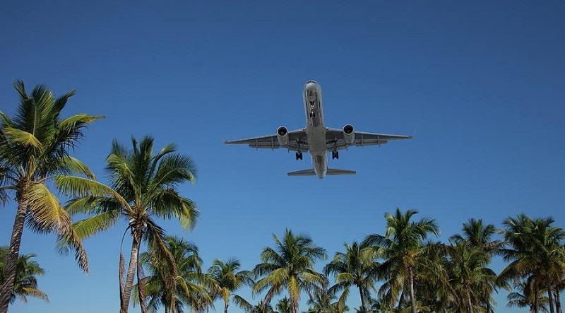 Avião para Miami