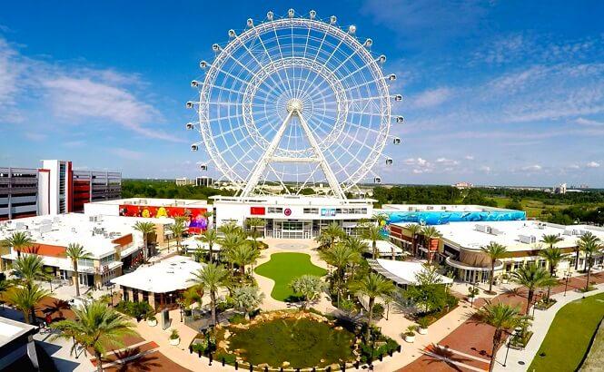 Roda Gigante Orlando Eye e complexo