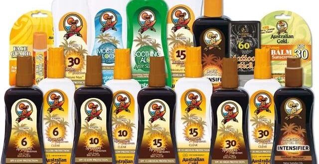 Onde comprar bronzeador Australian Gold em Miami e Orlando