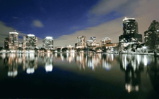 Fim de ano e noite em Orlando