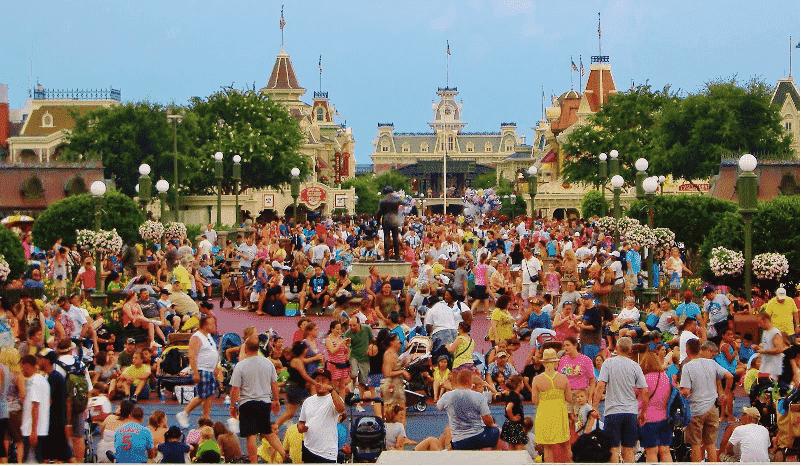 Disney em alta temporada