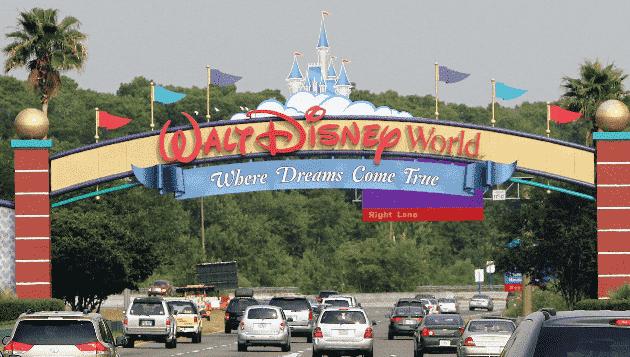 Entrada Disney Orlando