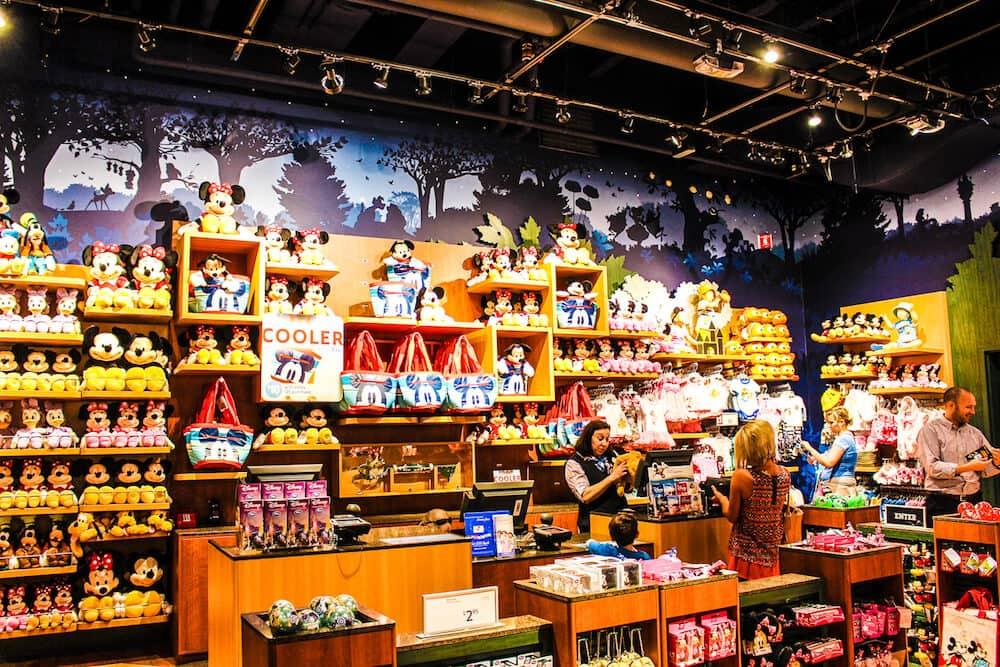Lojas de brinquedos Disney Store