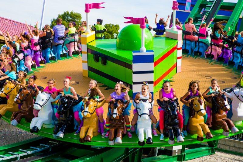 Brinquedo Mia's Riding Adventure do Legoland Orlando