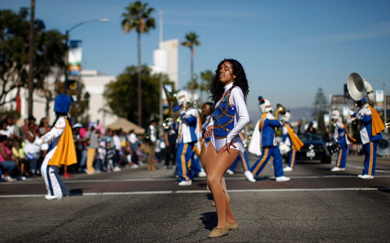 Desfile no dia de Martin Luther King em Miami