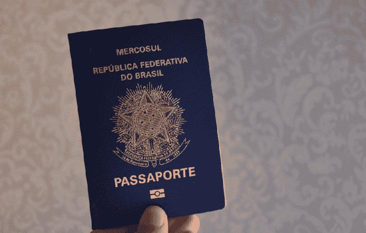 Passaporte brasileiro antigo