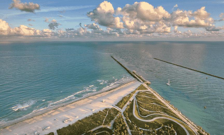 South Pointe Beach em Miami