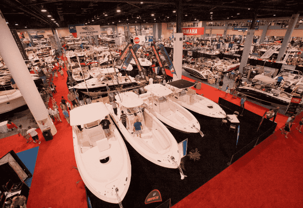 Show internacional de barcos em Miami