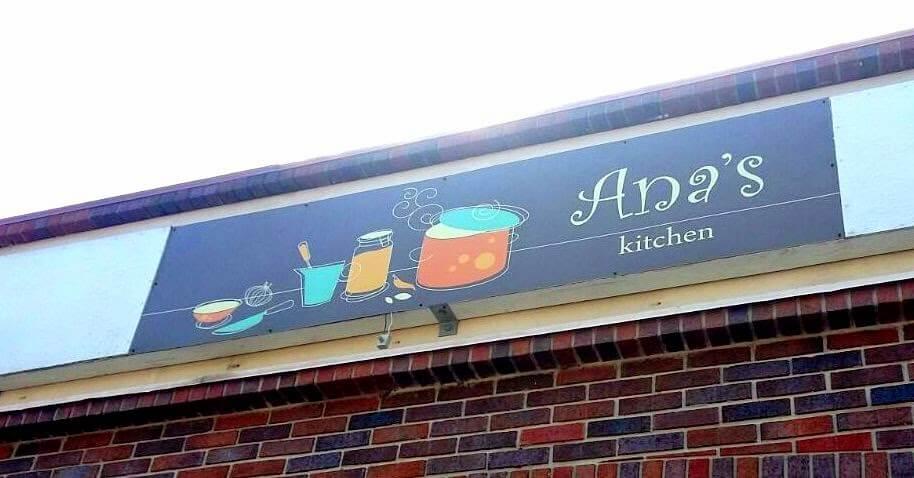 Entrada do Restaurante brasileiro Ana's Kitchen em Orlando