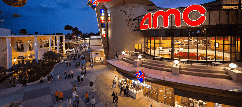 AMC Movies e o AMC Dine-in