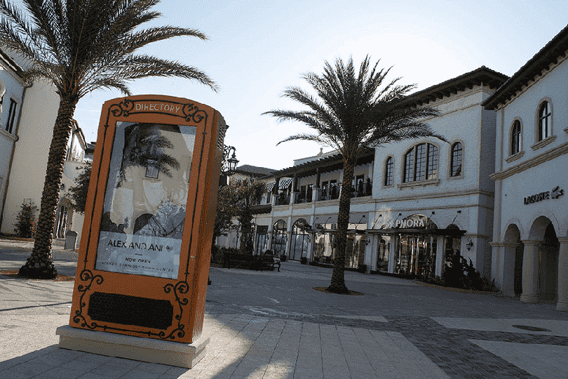 Marketplace e Town Center na Disney Springs em Orlando