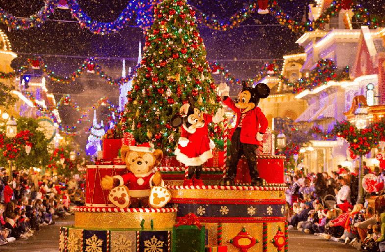 Natal da Disney em Orlando